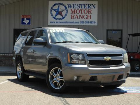 2007 Chevrolet Tahoe for sale at Western Motor Ranch in Amarillo TX