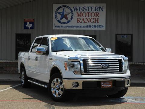 2011 Ford F-150 for sale at Western Motor Ranch in Amarillo TX
