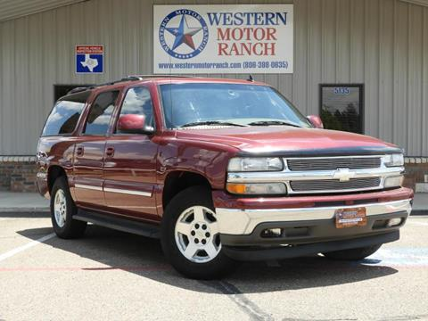 2006 Chevrolet Suburban for sale at Western Motor Ranch in Amarillo TX
