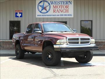2001 Dodge Dakota for sale at Western Motor Ranch in Amarillo TX