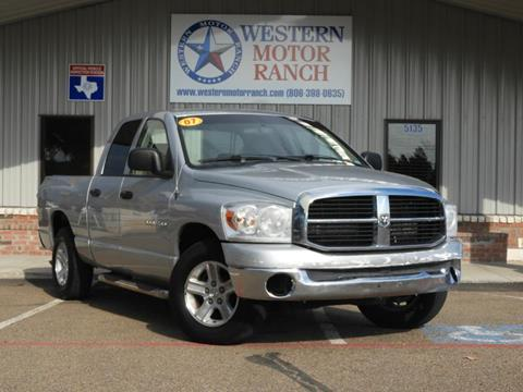2007 Dodge Ram Pickup 1500 for sale at Western Motor Ranch in Amarillo TX