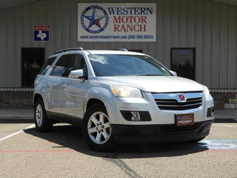 2009 Saturn Outlook for sale at Western Motor Ranch in Amarillo TX