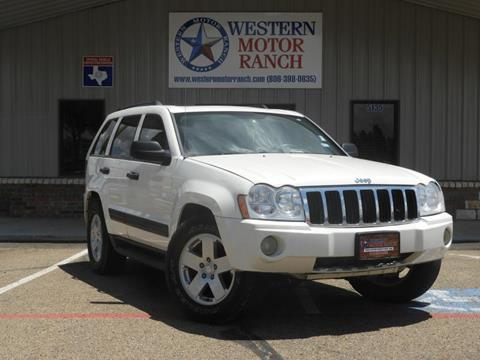 2005 Jeep Grand Cherokee for sale at Western Motor Ranch in Amarillo TX