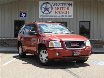 2003 GMC Envoy for sale at Western Motor Ranch in Amarillo TX