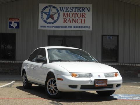 2001 Saturn S-Series for sale at Western Motor Ranch in Amarillo TX