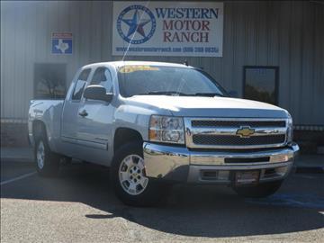 2013 Chevrolet Silverado 1500 for sale at Western Motor Ranch in Amarillo TX