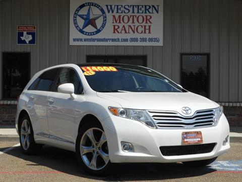 2011 Toyota Venza for sale at Western Motor Ranch in Amarillo TX