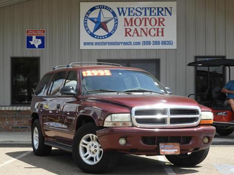 2001 Dodge Durango for sale in Amarillo, TX