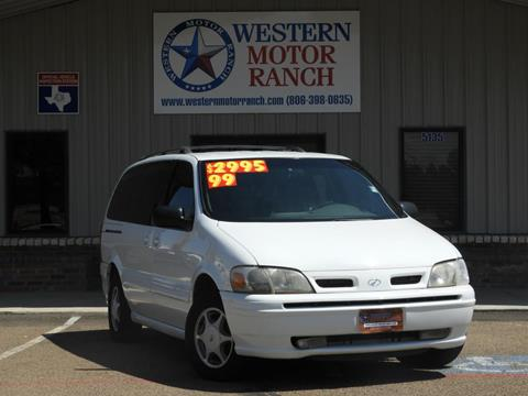 1999 Oldsmobile Silhouette for sale at Western Motor Ranch in Amarillo TX