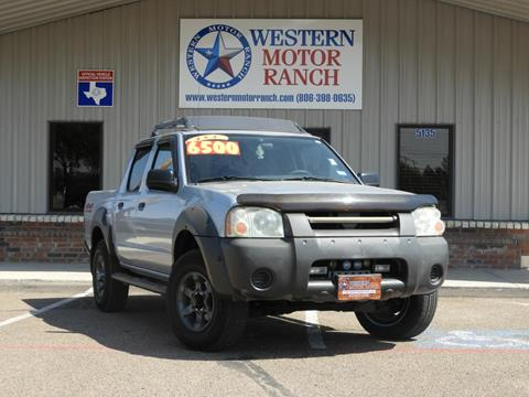 2001 Nissan Frontier for sale at Western Motor Ranch in Amarillo TX