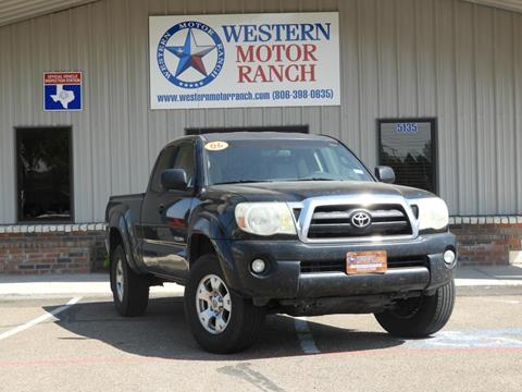 2006 Toyota Tacoma for sale at Western Motor Ranch in Amarillo TX
