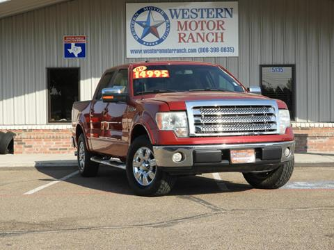 2009 Ford F-150 for sale at Western Motor Ranch in Amarillo TX