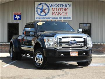 2012 Ford F-450 Super Duty for sale at Western Motor Ranch in Amarillo TX
