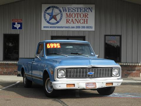 1971 Chevrolet C/K 10 Series for sale at Western Motor Ranch in Amarillo TX