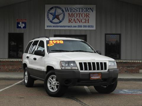 2004 Jeep Grand Cherokee for sale at Western Motor Ranch in Amarillo TX