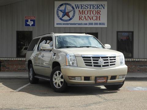 2009 Cadillac Escalade for sale at Western Motor Ranch in Amarillo TX