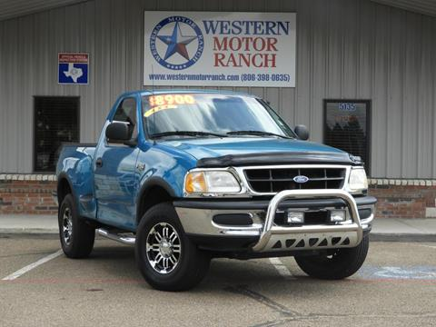 1997 Ford F-150 for sale at Western Motor Ranch in Amarillo TX