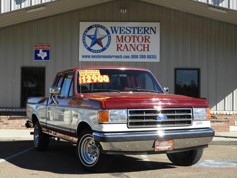 1991 Ford F-150 for sale in Amarillo, TX