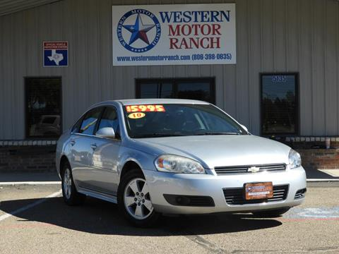 2010 Chevrolet Impala for sale in Amarillo, TX
