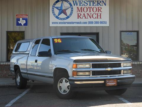 1996 Chevrolet C/K 1500 Series for sale in Amarillo, TX