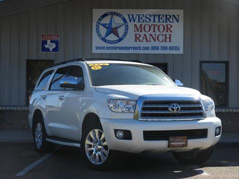 2011 Toyota Sequoia for sale in Amarillo, TX