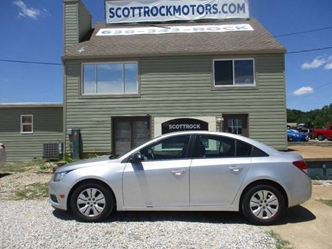 2014 Chevrolet Cruze for sale at Scottrock Motors in Fenton MO