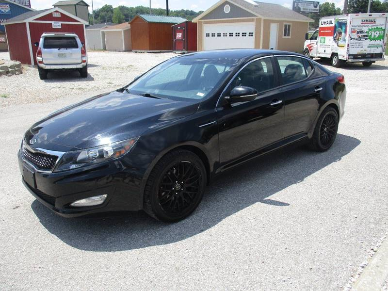 2012 Kia Optima for sale at Scottrock Motors in Fenton MO