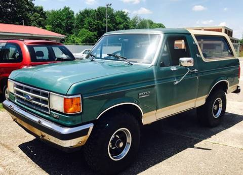 1988 Ford Bronco for sale in Tullahoma, TN