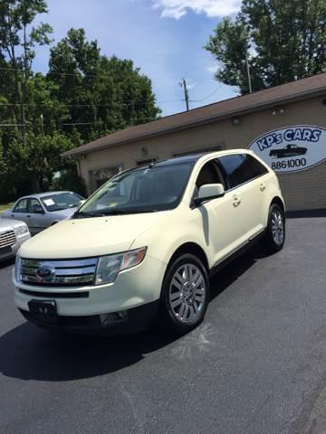 2008 Ford Edge for sale at KP'S Cars in Staunton VA