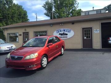 2005 Toyota Corolla for sale at KP'S Cars in Staunton VA