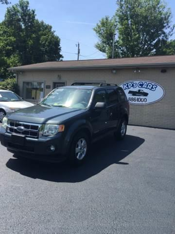 2008 Ford Escape for sale at KP'S Cars in Staunton VA