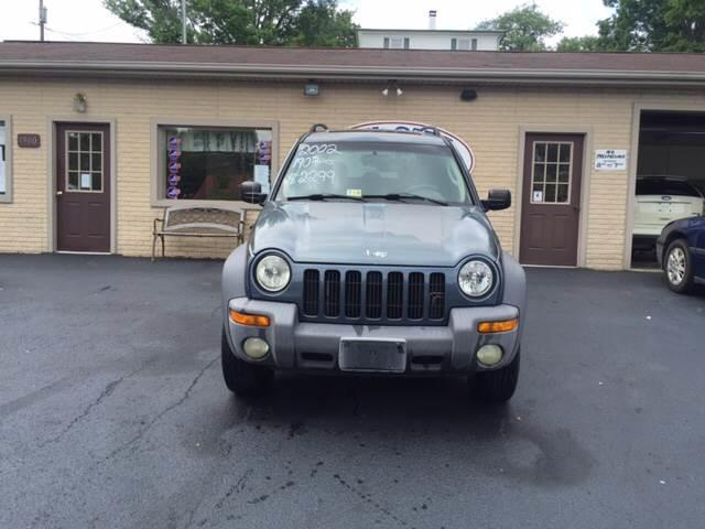 2002 Jeep Liberty for sale at KP'S Cars in Staunton VA