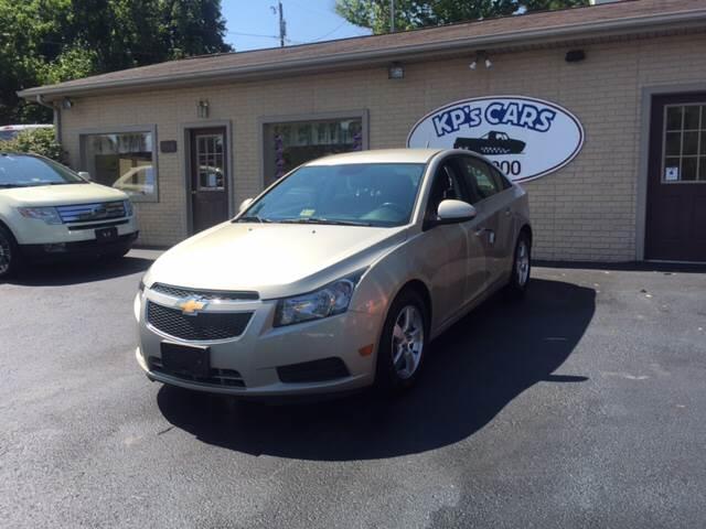 2013 Chevrolet Cruze for sale at KP'S Cars in Staunton VA
