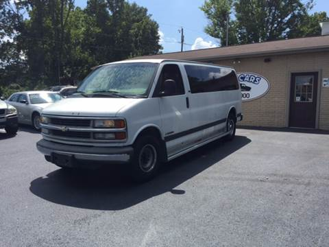 2000 Chevrolet Express Passenger for sale at KP'S Cars in Staunton VA