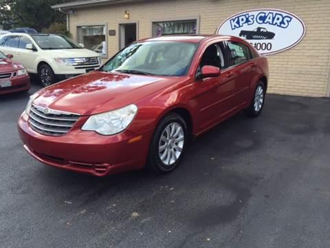 2010 Chrysler Sebring for sale at KP'S Cars in Staunton VA