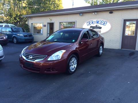 2010 Nissan Altima for sale at KP'S Cars in Staunton VA