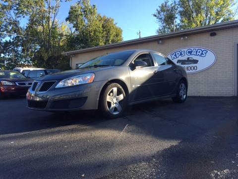 2009 Pontiac G6 for sale at KP'S Cars in Staunton VA