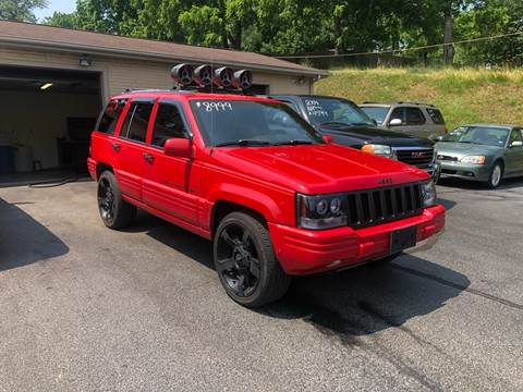 1996 Jeep Grand Cherokee for sale in Staunton, VA