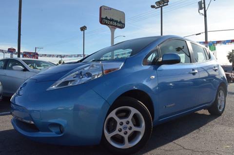 2012 Nissan LEAF for sale in Las Vegas, NV