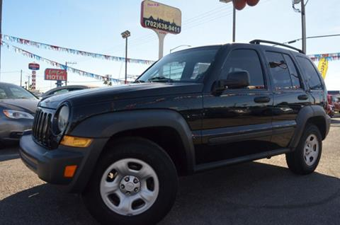 2006 Jeep Liberty for sale in Las Vegas, NV