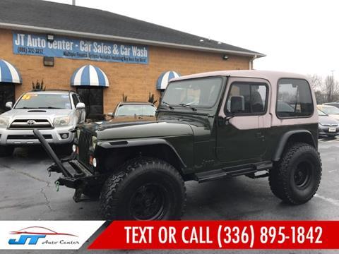 1993 Jeep Wrangler for sale in Sanford, NC