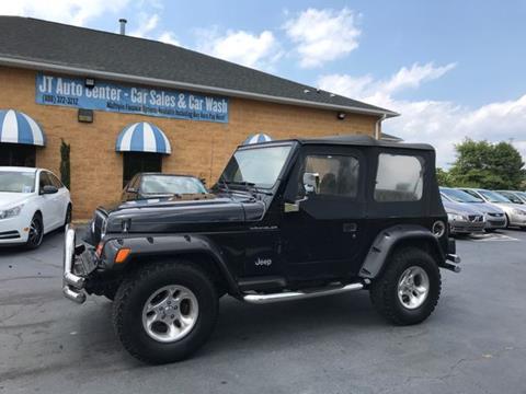 2000 Jeep Wrangler for sale in Sanford, NC