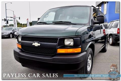 2008 Chevrolet Express Passenger for sale in Anchorage, AK