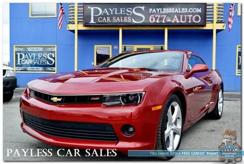 2015 Chevrolet Camaro for sale in Anchorage, AK