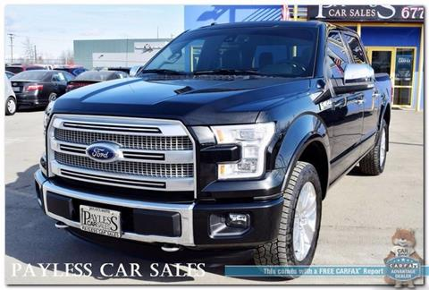 2015 Ford F-150 for sale in Anchorage, AK