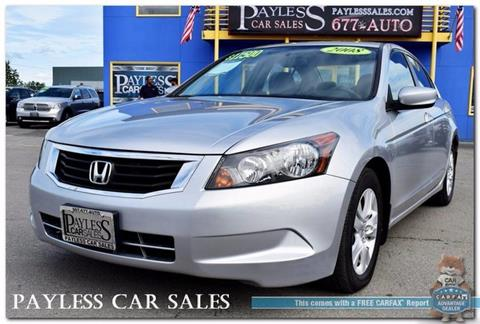 2008 Honda Accord for sale in Anchorage, AK