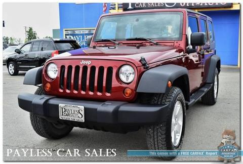 2009 Jeep Wrangler Unlimited for sale in Anchorage, AK