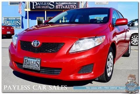 2010 Toyota Corolla for sale in Anchorage, AK