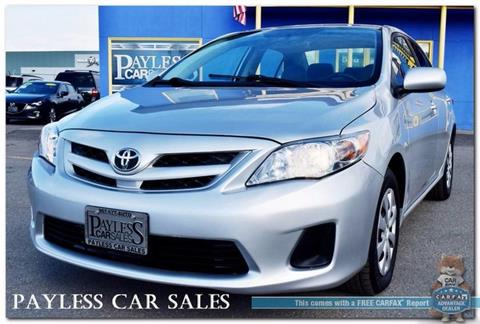 2011 Toyota Corolla for sale in Anchorage, AK