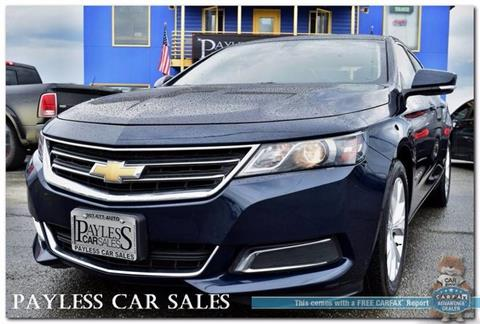 2015 Chevrolet Impala for sale in Anchorage, AK